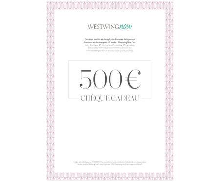 Chèque cadeau à imprimer 500 €