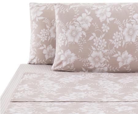 Completo letto renforcé Grace con lenzuolo, 4 pz.