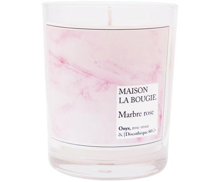 Świeca zapachowa Marbre róża (wanilia, drzewo benzoesowe & bóS tonka)