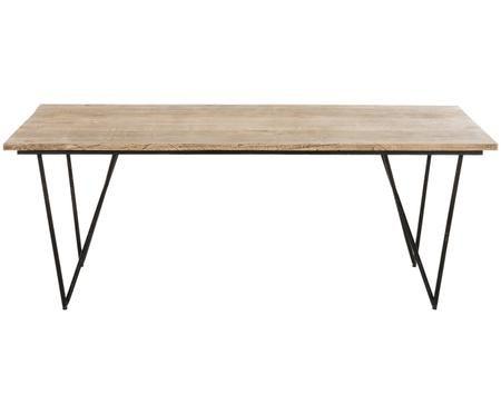 Tavolo da pranzo in legno massiccio Alfredo