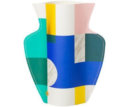 Vaso in carta decorativo fatto a mano Scala