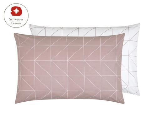 Renforcé-Wendekissenbezug Marla mit grafischem Muster