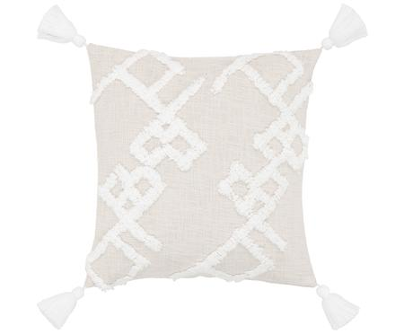 Poszewka na poduszkę z tuftowaną dekoracją Tikki