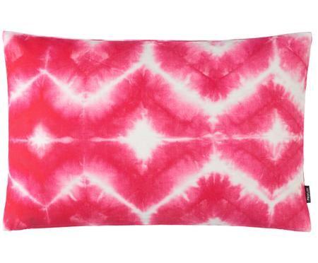 Kissenhülle Caracas mit Batik Print in Pink