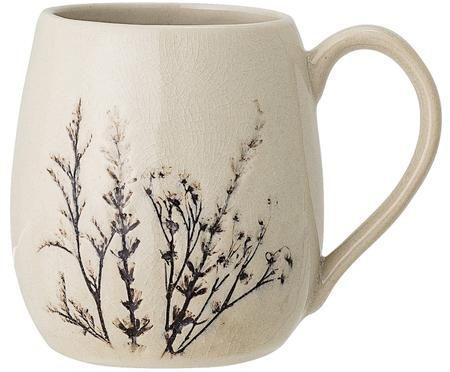 Grand tasse faite main à motif herbe Bea