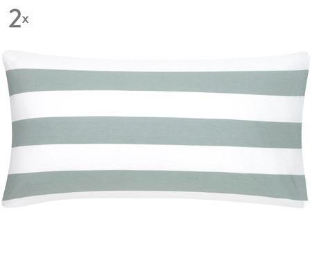 Dwustronna poszewka na poduszkę z bawełny renforcé Vivie, 2 szt.