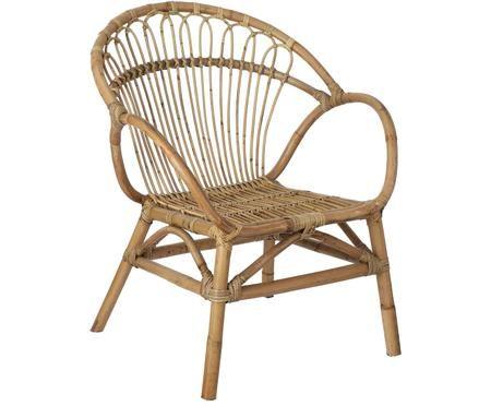 Fotel z rattanu Martino