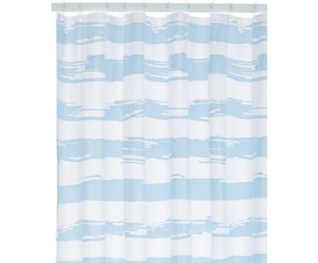 Douchegordijn Stripy met strepen patroon