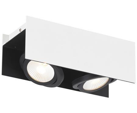 Stropné bodové LED osvetlenie Vidago, čierna