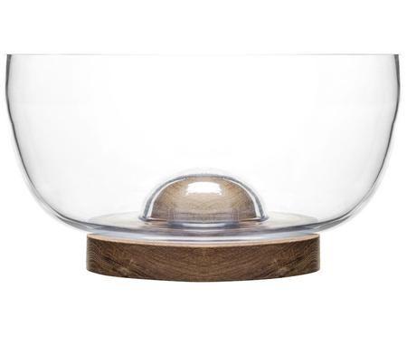 Misa do sałatek ze szkła i drewna dębowego Eden