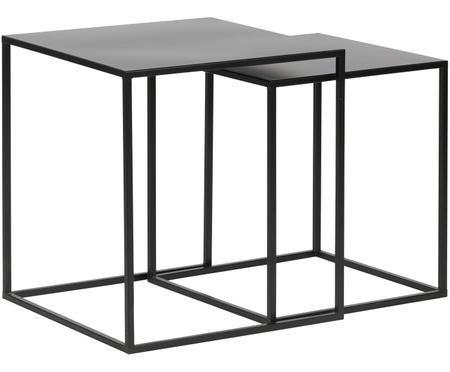 Metall-Beistelltische-Set Ziva, 2-tlg.