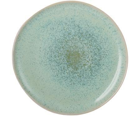 Assiette plate peinte à la main Areia