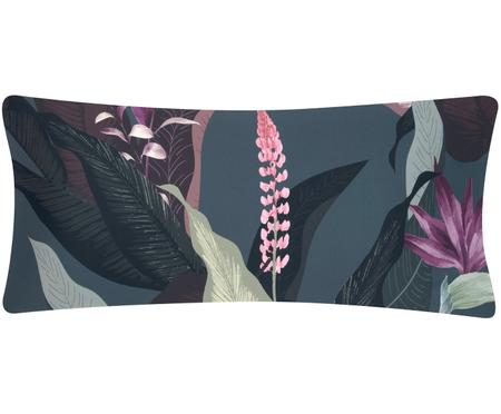 Funda de almohada de satén, caras distintas Flora