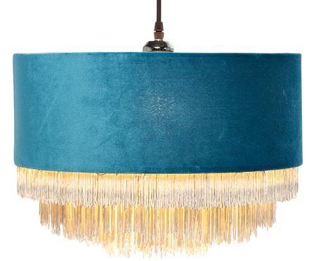 Fluwelen hanglamp Tassel