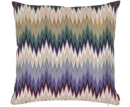 Design kussen Phrae met zigzag patroon, met vulling