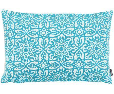 Dwustronna haftowana poszewka na poduszkę Sella