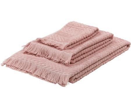 Set asciugamani Jacqui, 3 pz.