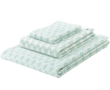 Komplet dwustronnych ręczników Ava, 3elem.