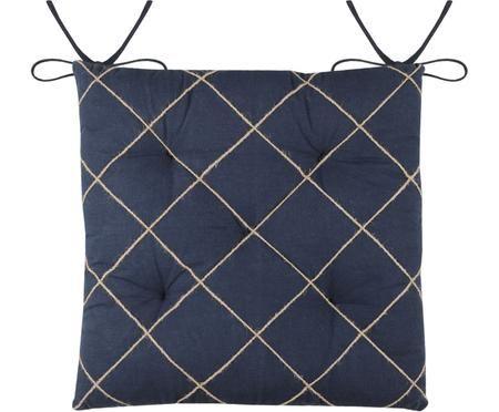 Sitzauflage Concarneau mit erhabenem Muster