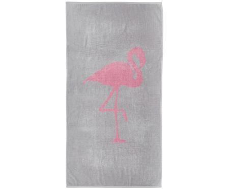 Strandtuch Mina mit Flamingo-Motiv