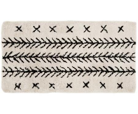 Flauschiger Hochflor-Teppich Mayla, handgetuftet