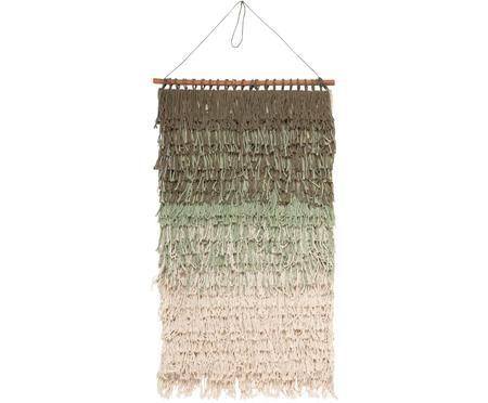 Nástenná dekorácia Nature z bavlny