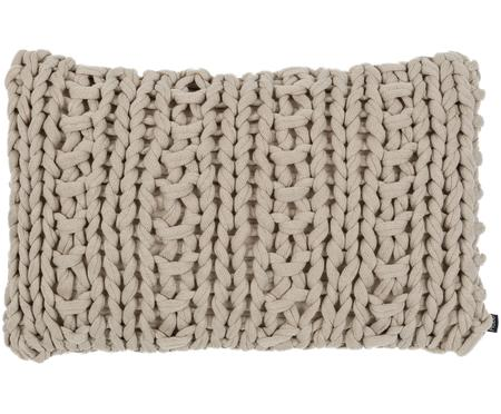 Coussin en tricot Chunky