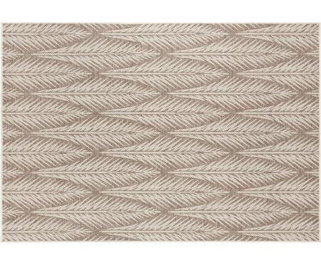 Design in- en outdoor vloerkleed Pella met grafisch patroon