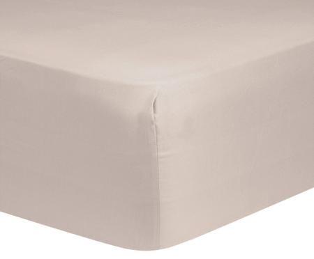 Lenzuolo con angoli per il letto continentale Comfort, raso di cotone
