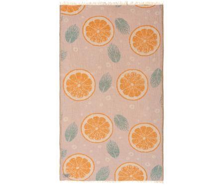 Strandlaken Orange