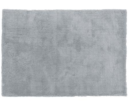 Tapis épais et moelleux gris foncé Leighton