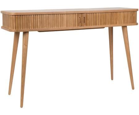 Drevený konzolový stolík Barbier s úložným priestorom