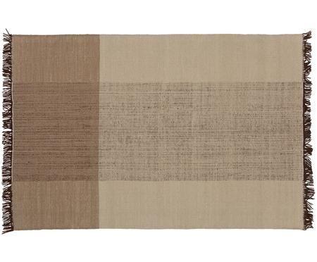 Ręcznie tkany dywan z wełny Coast