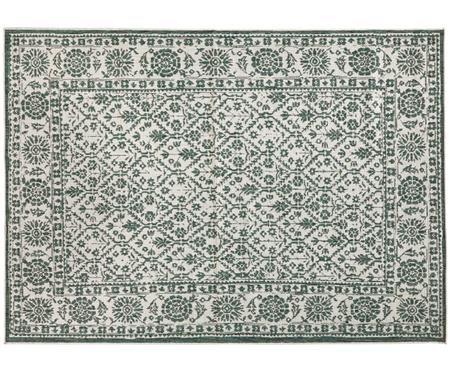 Dwustronny dywan wewnętrzny/zewnętrzny vintage Curacao