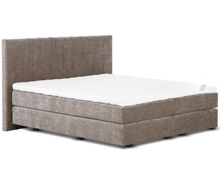 Premium fluwelen boxspring bed Lacey