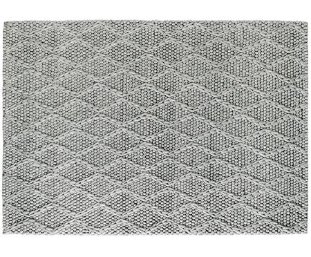 Tappeto in lana tessuto a mano My Studio