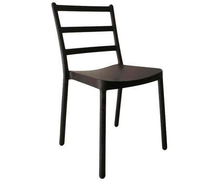 Krzesło z tworzywa sztucznego Judith