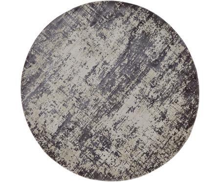 Tappeto rotondo vintage effetto lucido Cordoba