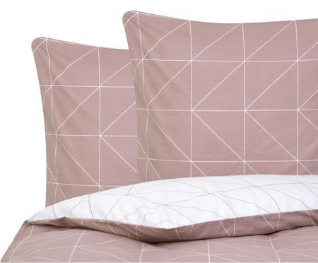 Renforcé-Wendebettwäsche Marla mit grafischem Muster
