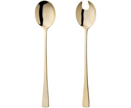 Posate per insalata in acciaio inossidabile Matera, set di 2