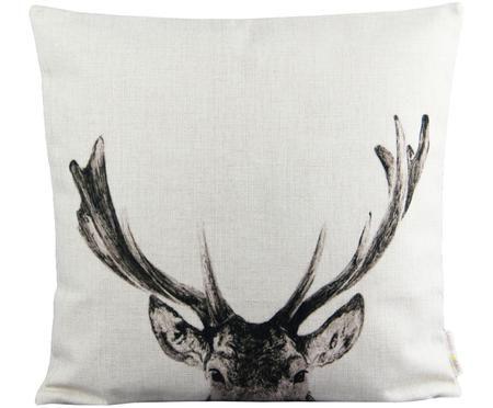 Poszewka na poduszkę z lnu Reindeer