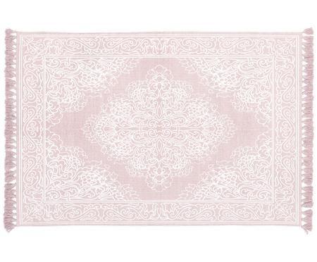 Tappeto in cotone tessuto a mano Salima