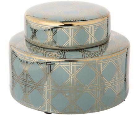 Contenitore con coperchio in porcellana Egypt