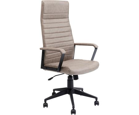 Chaise de bureau en cuir synthétique Labora