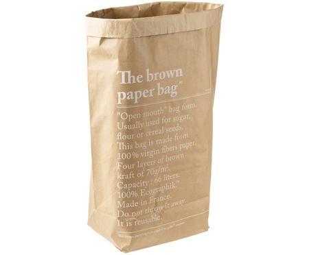 Úschovný vak  Le sac en kraft brun