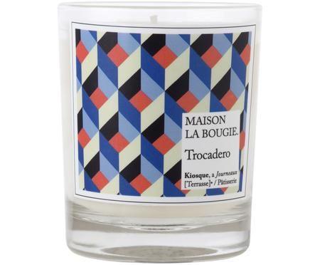 Świeca zapachowa Trocadero (goździk, białe piżmo i gardenia)