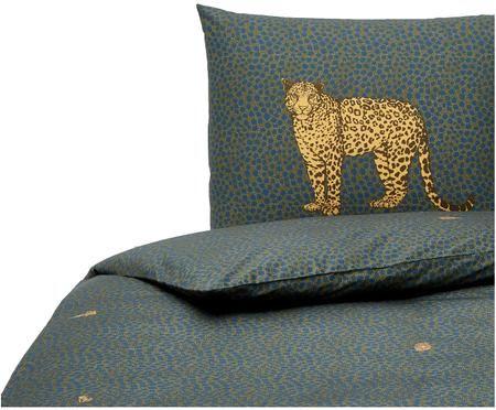 Bettwäsche Cali mit Leoparden Print