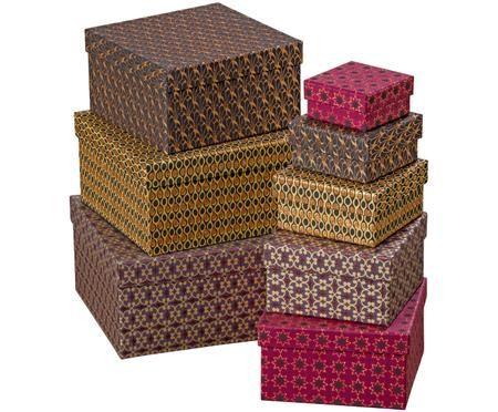 Sada dárkových krabic Marocco, 8 dílů