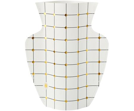Vaso in carta decorativo fatto a mano Duna