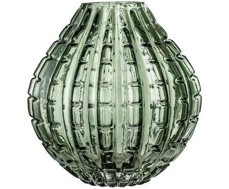 Glas-Vase Lioba in Grün